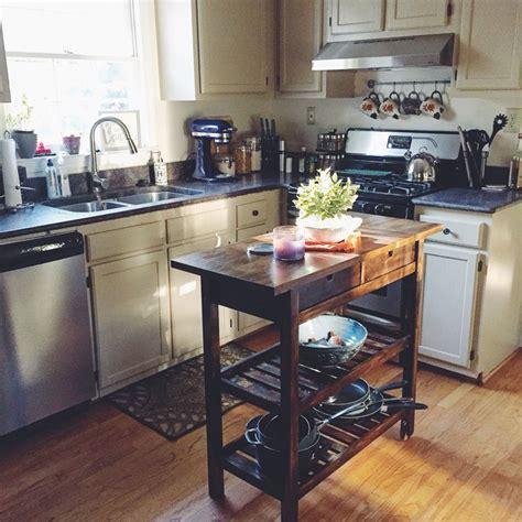 kitchen carts ikea f 214 rh 214 ja kitchen cart ikea diy stain project