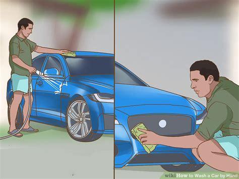 ways  wash  car properly wikihow