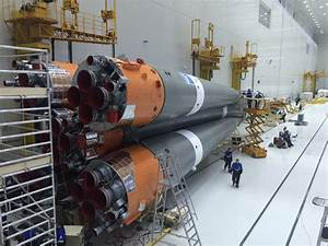 Soyuz prepared for first flight from Siberian cosmodrome ...