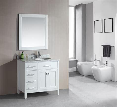 design bathroom vanity adorna 36 quot single bathroom vanity white finish