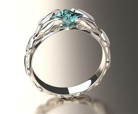 engagement ring 3d 3d printable obj cgtrader com