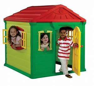 Maison Jardin Pour Enfant : maisonnette de jeu en r sine pour enfants ~ Premium-room.com Idées de Décoration
