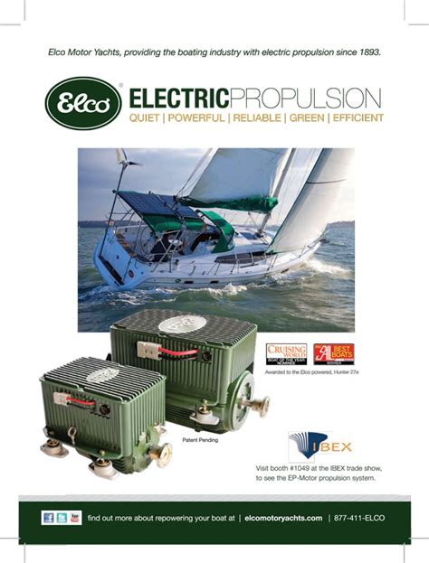 Electric Propulsion Motor by Electric Inboard Boat Motors Electric Drives