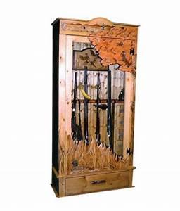 Upland Gun Cabinet - Rustic Artistry