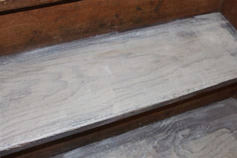 pickled oak floor finish the stair project tackling the many tones of pine