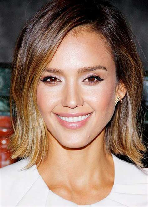 jessica alba bob hair short hairstyles