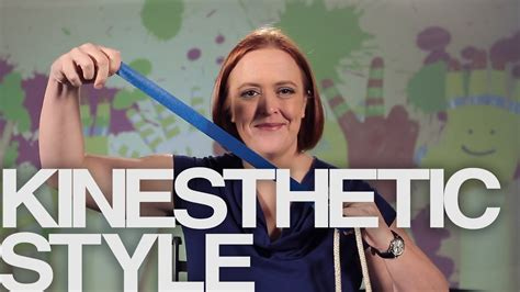 kinesthetic learning style ll youtube