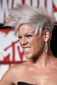Singer Pink Hair