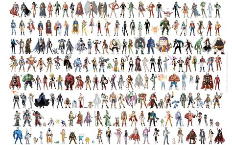 Marcio Takara 200 Tiny Comic Book And Video Game Characters