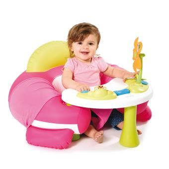 siege bebe gonflable siège gonflable smoby cotoons cosy seat jeu d 39 éveil