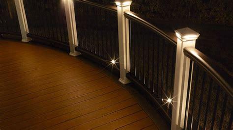 Deck accent lighting democraciaejustica deck lighting led solar step rail recessed post cap mozeypictures Images
