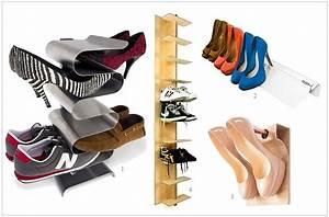 Schuhe Platzsparend Aufbewahren : schuhe aufbewahren wohnen ~ Sanjose-hotels-ca.com Haus und Dekorationen