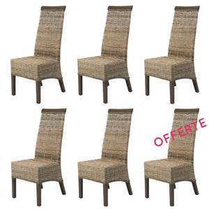 Chaises Bistrot Occasion Bruxelles by Lot Chaise Salle A Manger Rotin Meubles En Rotin Lot 6