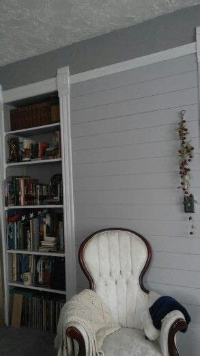 painted plank wall behr silver bullet pretty living