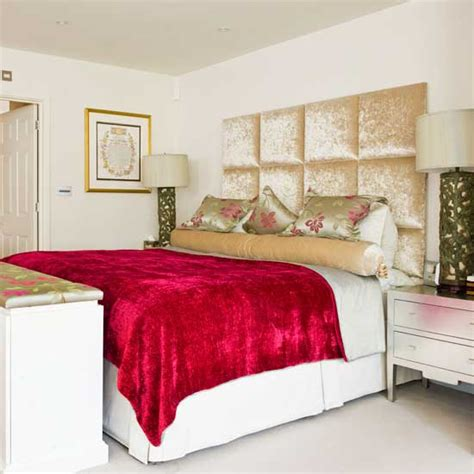 Ruby Red Bedroom Ideas  Ideal Home
