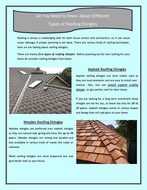 all you need to about different types of roofing