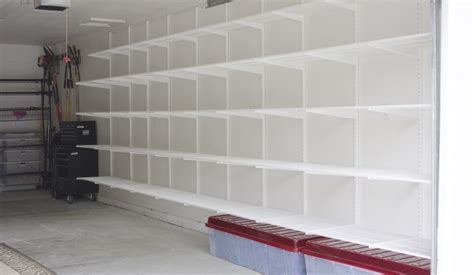 Simply Done: Custom Wall of Garage Shelving   simply organized