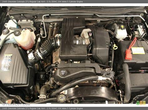 2005 Chevrolet Colorado 5 Cylinder Engine Diagram 3 5l dohc 20v inline 5 cylinder engine for the 2005