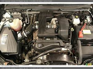 3 5l Dohc 20v Inline 5 Cylinder Engine For The 2005