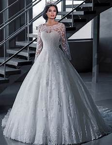 aliexpresscom buy vintage bridal ball gown long sleeve With long sleeve vintage wedding dresses