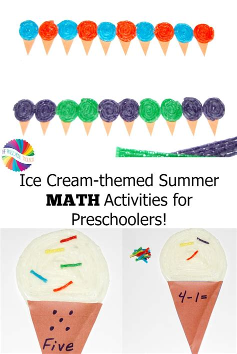 themed summer math activities for preschoolers 743 | 823b3f99e614779e9cd665a062425dc1