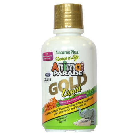 natures  animal parade multivitamin mineral gold