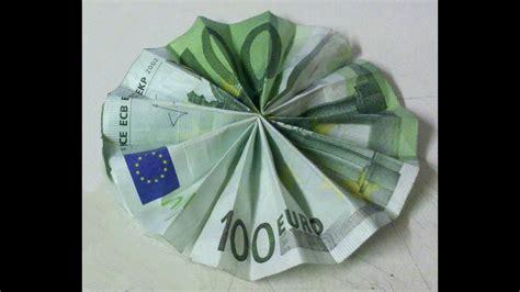 sonne aus geldschein falten sonne aus geld falten