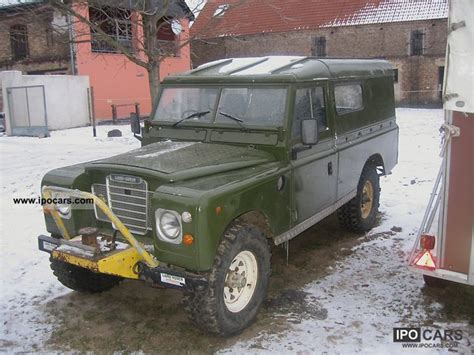 land rover series 3 off road 1982 land rover series iii car photo and specs