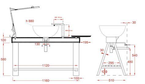 norme hauteur bureau beautiful hauteur lavabo salle de bain gallery design