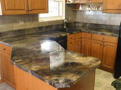 stained concrete counter top   Home Decor   Pinterest