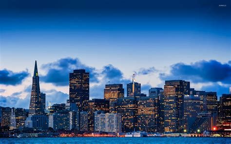 san francisco skyline wallpapers  background pictures