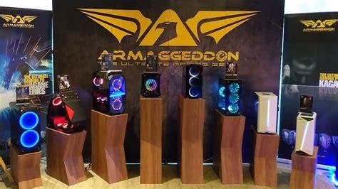 armageddon rilis produk gaming gear  pecinta game