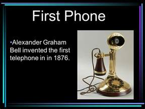 when was the phone invented the telephone then and now ppt