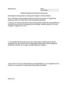 adam smith karl marx lesson plans worksheets reviewed by