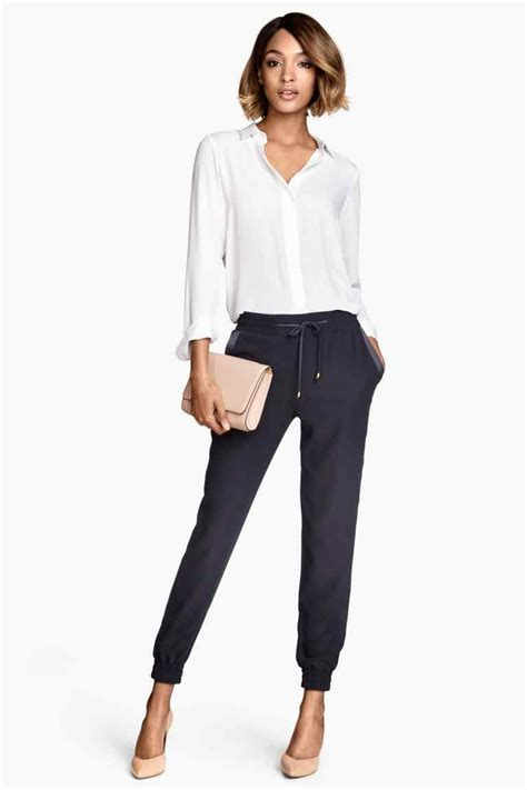 Pantalon jogger | Hu0026M | C l o s e t W o r t h y | Pinterest | Jogging bottoms Clothes and Work ...