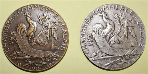 chambre de commerce de calais médailles et récompenses liées à l 39 activité du courgain