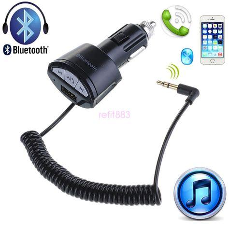 Car Aux by Hifi Car Bluetooth Usb Charger A2dp3 5mm Aux Stereo Audio