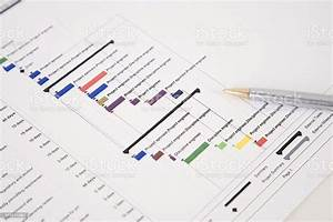 Project Plan Gantt Chart Stock Photo Download Image Now