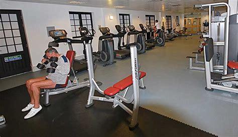 dalle sol sportif fitness pvc