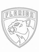 Panthers Florida Coloring Colouring Kleurplaat Nhl Coloringpage Rangers York 1001coloring Member Clubs Leukekleurplaten Hockey Colour Check sketch template