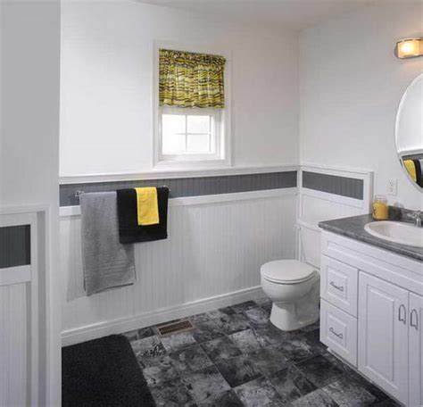 bathroom with wainscoting ideas bloombety with wainscoting in bathroom ideas floor tile