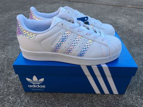 Adidas Superstar 3d Hologram Iridescent Limited Edition Us