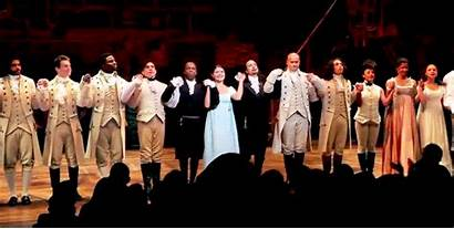 Hamilton Musical Gifs Curtain Theatre Bows Alexander