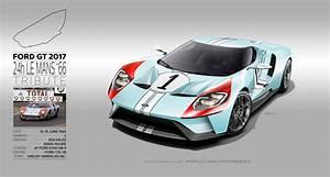 24h Le Mans 2017 : marco van overbeeke freelance automotive designer 2017 ford gt tribute liveries ~ Medecine-chirurgie-esthetiques.com Avis de Voitures