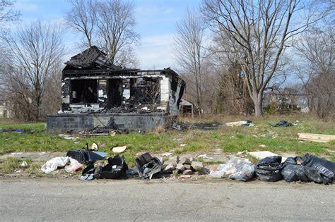 Crime In Detroit Neighborhoods Blight And Illegal Dumping