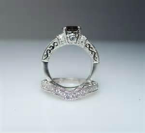 quartz engagement rings herkimer rings and herkimer jewelry green gem company smokey quartz engagment
