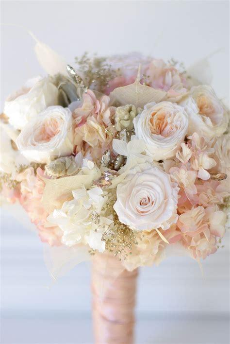 rose gold bouquet wedding ideas wedding wedding