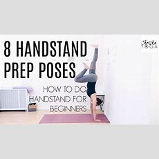 How To Do A Handstand  Handstand Prep Poses  Handstand Tutorial For Beginners Chriskayoga