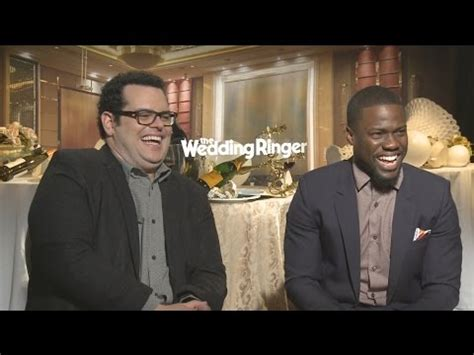 the wedding ringer josh gad and kevin hart interview about who the most takes and more