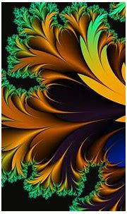 Abstract art background Colorful colors Flowers Glowing ...